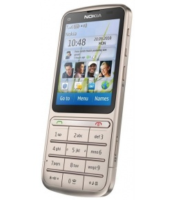 Nokia C3-01 Touch and Type Khaki Gold